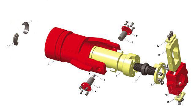 Элеватор 2-33В-00 (3D-модель)