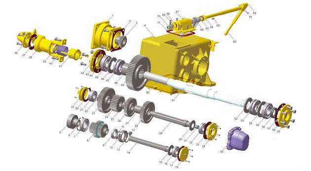Вращатель 2-37B-00 (3D-модель)